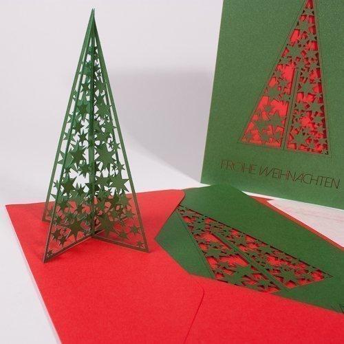 weihnachtsbaum gr n rot tausendsch n karten. Black Bedroom Furniture Sets. Home Design Ideas